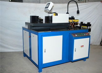 Mesin CNC Hydraulic Punch Cutting High Efficiency, Tembaga Busbar Machine