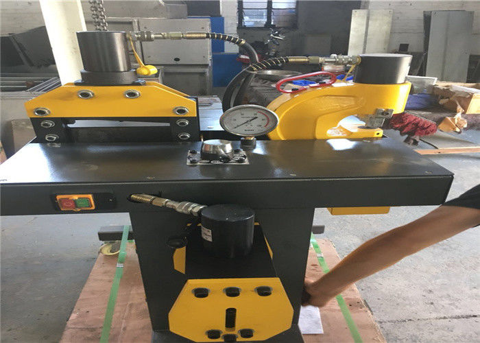 Professional Hydraulic Copper Cutting Machine For Electric Switch Manual Control